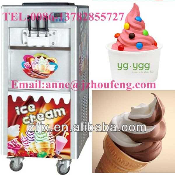 Hot selling commercial soft serve ice cream machine/soft ice cream machine/soft ice cream machine for sale