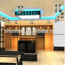 Luggage shop interior design