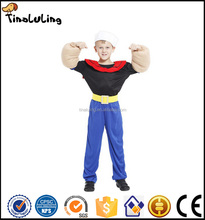 Party carnival child kids sailor seaman Popeye boys costume