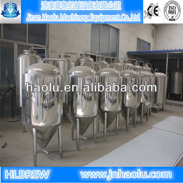 500L/day Stainless steel 304 Beer Brewing Equipment/ Complete brewery plants CE & ISO beer brewery kits and brewing system,