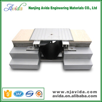 Recessed driveway aluminium expansion joint filler