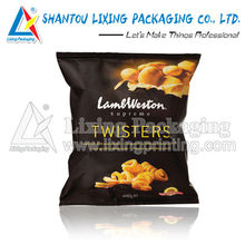 potato chips and banana chips packaging products