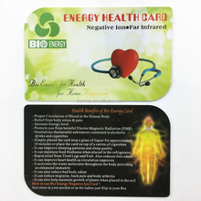 2017 Newest EMF radiation card & energy saver chip to save energy and healthcare