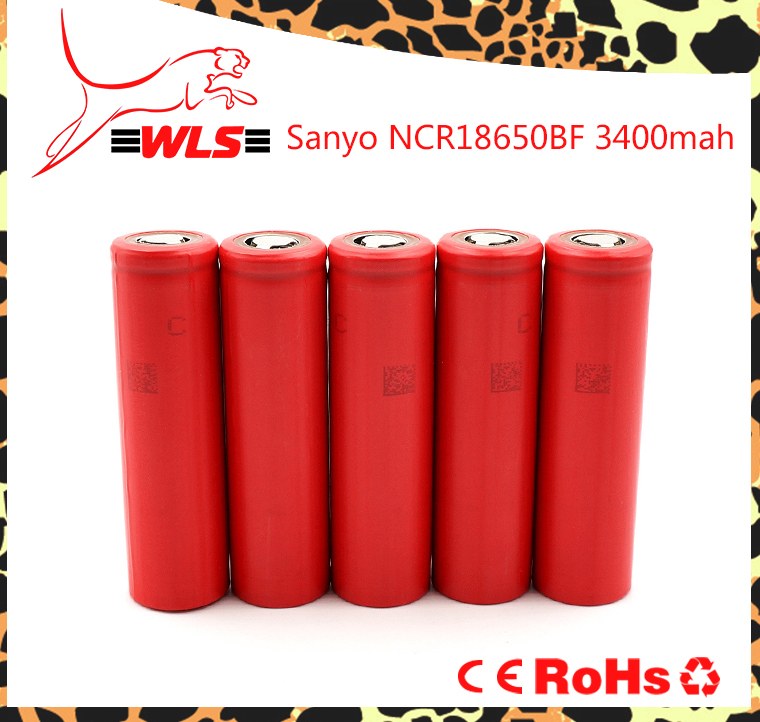 NCR 18650 Sanyo GA/BF/BL lithium 18650 rechargeable battery 3500mAh li ion 18650 battery