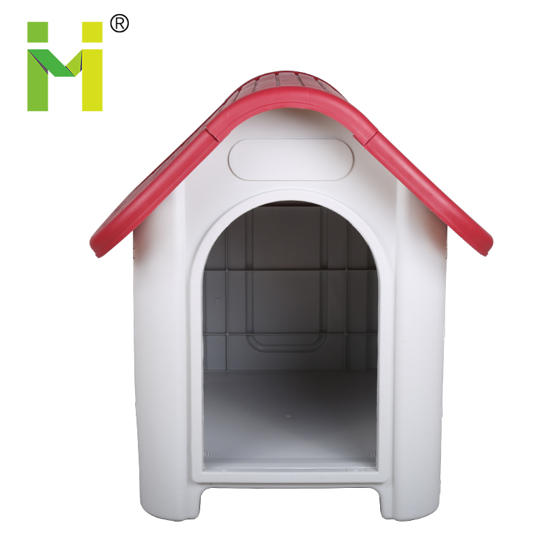 Plastic fancy happy cool outdoor best breed eco-friendly dog kennel