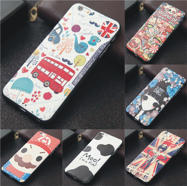 OEM High QUality 3D Relief Sublimation Tpu Phone Back Cover Soft Case For Xiaomi Redmi Note Note 3 Case