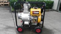 6 inch Farm Irrigation Movable Diesel Water Pump