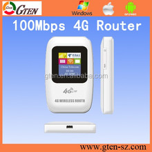 4G LTE FDD Hotspot Wireless 4G Mobile WiFi Router similar to Huawei sim card slot access to internet