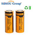Sidiou Group 26650 Lithium Ion Battery 3.7V 4800mAh Rechargeable Battery for LED flashlight (A Set of 2 Pieces)