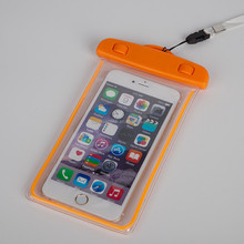 PVC waterproof cell phone bags/water proof phone cases/High quality waterproof camera case