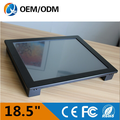 "18.5"" touch screen All in One PC with DIY HDD/CPU/Mother Board/Video"