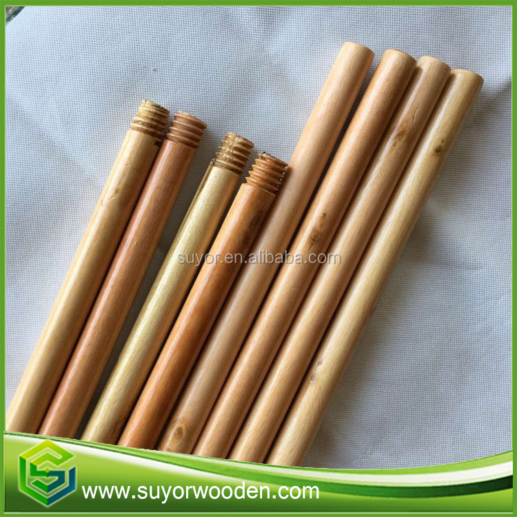 Wooden tool handle wholesale for varnished wooden broom