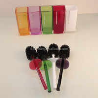 Brush for toilet cleaner hotel
