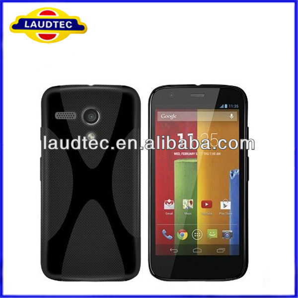 X Line Wave TPU Gel case for Motorola Moto G,for Moto G Gel case,High quality----Laudtec