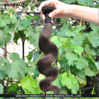 2016 New Factory Price Unprocessed natural color hair weave styles for black women