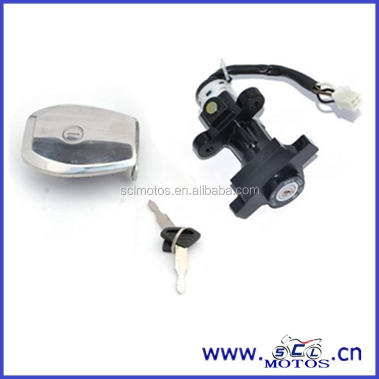SCL-2013061001 High quality Motorcycle Lock set for DISCOVER 100