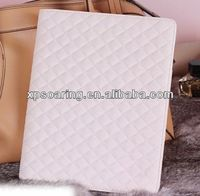 Fashion quilt leather case bag for ipad air ipad 5