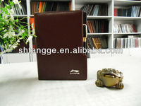2014 Hot sell leather agenda