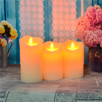 Flickering flame flameless led paper candle balloons, remote control birthday paper candle balloons/