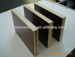 1220x2440x18mm wbp glue,combin core film faced plywood for middle east market from linyi factory with best quality
