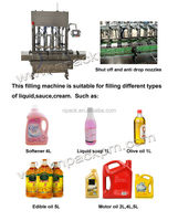 vegetable oil filling machine products line
