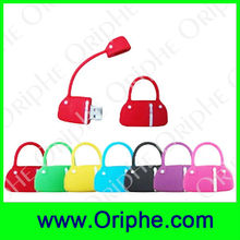 Handbag,Ladies bags Shape PVC Customized USB Flash Drive(UPVC0063)