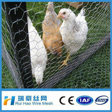 Cheap PVC coated chicken coop hexagonal wire mesh
