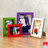 Colourful New Design Plastic Picture Frame 4x6 5x7 6x8 8x10 photo frame a4 size