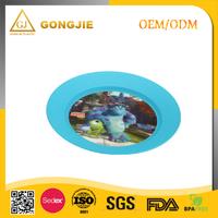 LFGB,FDA,CIQ,CE / EU,SGS Certification and pp Plastic Type wholesale 3D lenticular design your own plastic plate from China