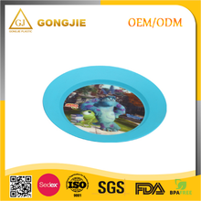 LFGB,FDA,CIQ,CE / EU,SGS Certification and pp Plastic Type wholesale 3D lenticular design your own plastic plate from China