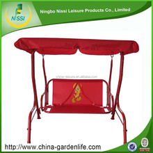 Good quality Good Price Two Seat Garden Iron Children Swing Chair For Outdoor
