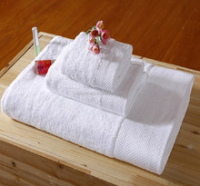 100% cotton white terry hotel bath towel