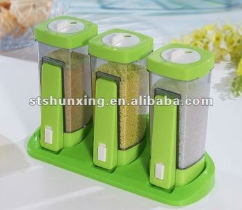 PP Plastic Cruet Set / Seasoning Bottle