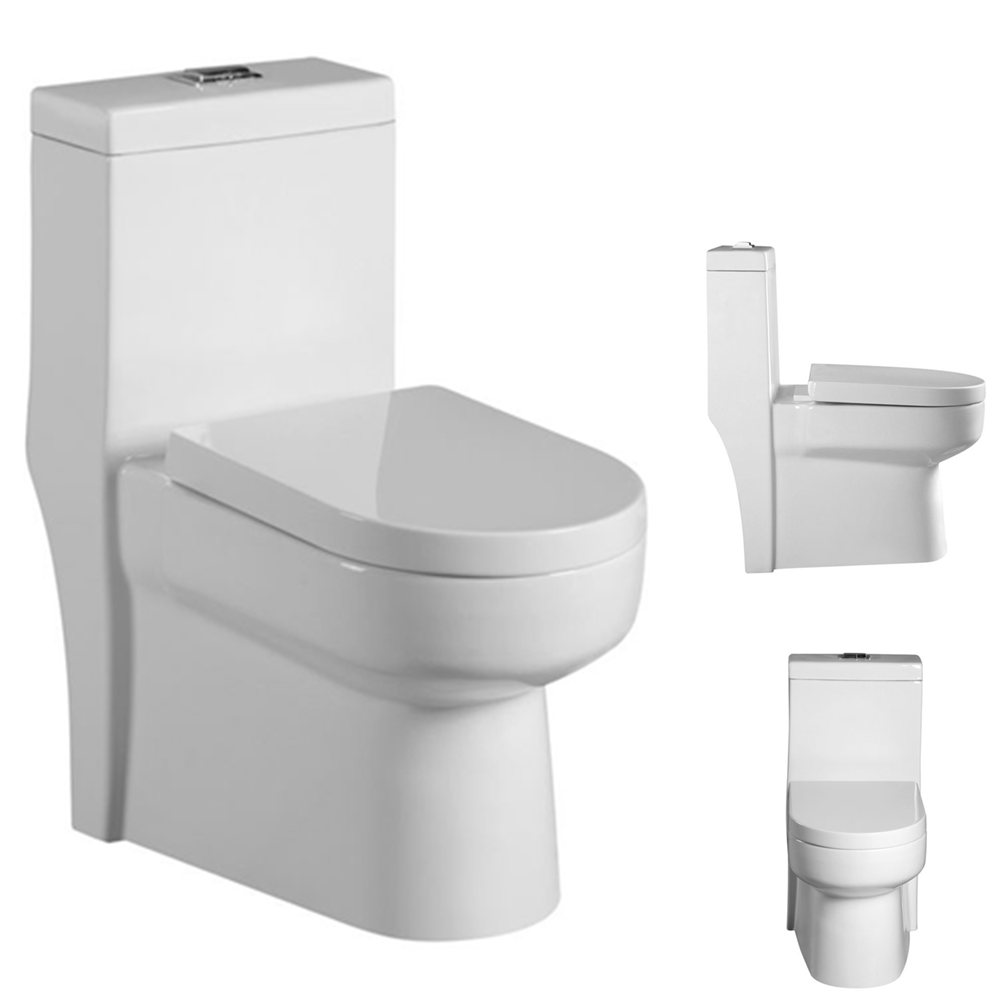 Chinese Economic One Piece Siphonic Toilet Manufacturer - Buy Toilet ...
