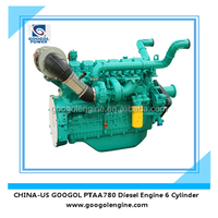 350kW Air Cooled 6 Cylinder 4 Stroke Googol Small Diesel Engine