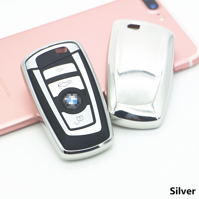 New TPU Keyless Entry Remote Smart Key Cover Fob Case For BMW 1 3 4 5 6 7 Series