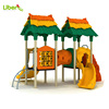 Triple Colors Matched Hot Sles Kids Small Outdoor Playground for Daycare Center