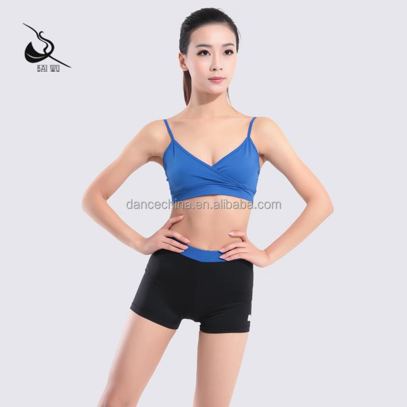 116172030 Camisole Sport Bra Fitness Wear Yoga Top