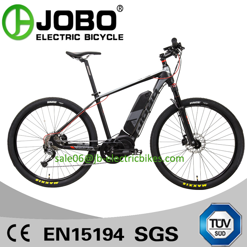 "JB-TDA33L JOBO New MTB EBIKE 27.5"" Air Suspension Mid Drive MTB Bike Electric"
