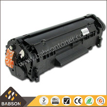 Free sample Q2612a Laser Toner for HP 12a Compatible Cartridge