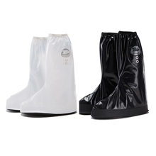 motorcycle accessories custom logo waterproof pvc transparent rain boots