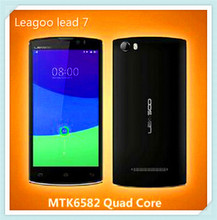 Cheap LEAGOO Lead 7 mobile phone Android 4.4 MTK6582 Quad Core 5 inch 1GB RAM 8GB ROM china smartphone
