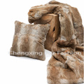 CX-D-08 Chengxing Fashion Rugs Genuine Rabbit Fur Rugs