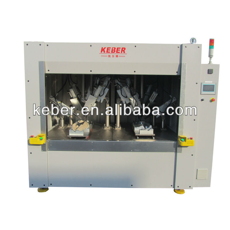 Ultrasonic welding machine for auto door trim