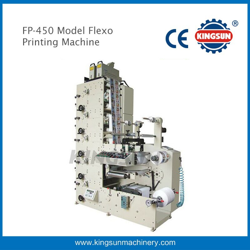 4 Colour Flexo Printing Machine For Label With CE Standard