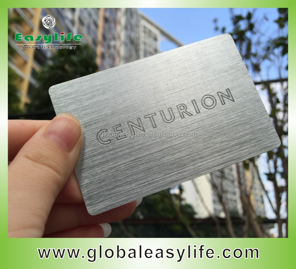 Wholesale aluminum business cards online buy best aluminum anodized etched blank strongaluminumstrong strongbusiness reheart Gallery