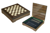 2016 Winstin Wooden Handmade Chess Set Box Game Chess Board