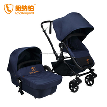 HIGH LANDSCAPE CRUDE RUBBER TIRES GOOD BABY STROLLER REVERSIBLE PUSH FOR CONVENIENT OPERATION