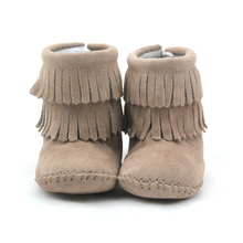 wholesale high top cheap booties hard sole walking shoes baby boots