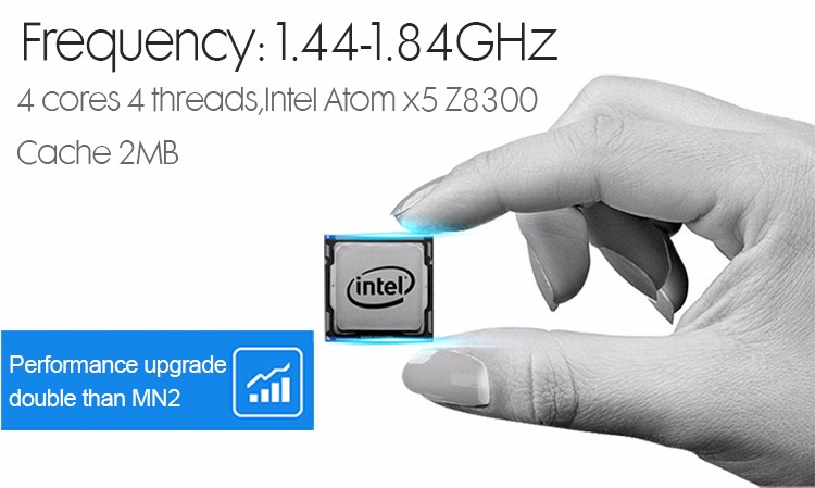 Hot selling! Intel z8350 windows 10 4GB ram 64GB mini pocket computer